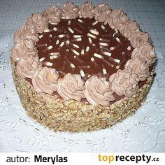 Žloutky utřeme s cukrem do pěny, dáme kůru a pak při dalším šlehání přidáváme po lžících vodu střídavě s větší částí mouky, přidáme ořechy a... Tiramisu, Ethnic Recipes, Food, Meal, Essen, Hoods, Tiramisu Cake, Meals, Eten