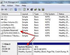 How to Open Windows 7 Hidden System Reserved Partition ~ Everything Is Possible Easily WithUs