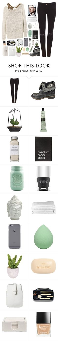 """""""☾ december thirtieth"""" by thundxrstorms ❤ liked on Polyvore featuring 3.1 Phillip Lim, Pull&Bear, ZiGiny, Aesop, Très Pure, Dinks, Nails Inc., Cyan Design, Frette and Forever 21"""