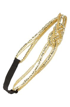 Sparkle & shine with a beaded headband.
