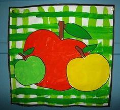 Apple or Pear Compote - [Dolto de Marchiennes Preschool School] Apple Art Projects, Fall Projects, Projects For Kids, Crafts For Kids, Painting For Kids, Art For Kids, Art Montessori, Apple Classroom, Kindergarten Art Lessons