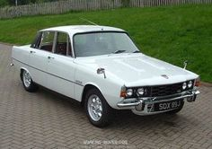 Car No 2 Rover P6 3500 V12. It was a powerful beast - white with red leather seats. Beginning of my ongoing love for powerful English cars and leather upholstery.