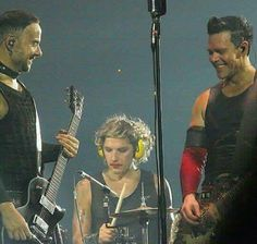 #Rammstein Richard Kruspe and Paul Landers  PaulChard Schneider   Doom