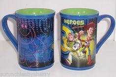 Disney Store Toy Story 3 Buzz Tea Coffee Mug Blue NEW