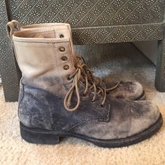 Frye boots Very good condition! Frye Shoes Combat & Moto Boots
