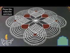 Diwali Padi Kolam|simple padi kolam|Rangoli|Kolam|traditional rangoli|festival kolam|rangoli design - YouTube Rangoli Designs Latest, Rangoli Designs Diwali, Kolam Rangoli, Rangoli Borders, Rangoli Border Designs, Beautiful Rangoli Designs, Small Rangoli, Rangoli With Dots, Traditional Rangoli
