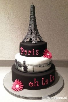 Paris cake for my mother's bday