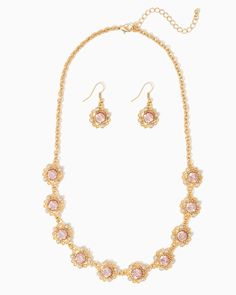 charming charlie | Royal Affair Necklace Set | UPC: 410007125161 #charmingcharlie