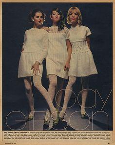 ADSAUSAGE - vintage advertising. Regine Jaffrey, Colleen Corby and Cay Sanderson.