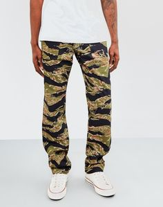 Stan Ray OG 4 Pocket Fatigue Pant 8.5oz Tiger Camo