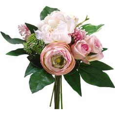 Tuck this elegant bouquet into an entryway arrangement for sophisticated appeal, or display it alone in a slender vase for a lovely desk accent....