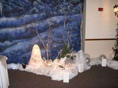 1000 images about winter formal decorations on pinterest for Winter dance decorations