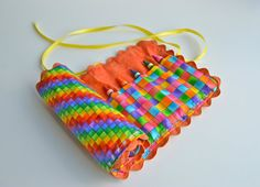 Roll-up Crayon Bag