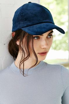 Silence + Noise Corduroy Baseball Hat - Urban Outfitters