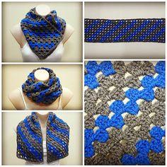 Rectangle Corner to Corner Granny Crochet Tutorial  pattern by bobwilson123