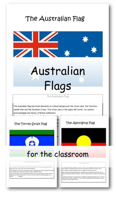 Flags of Australia and information about each flag.