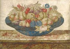 Circle of Giovanna Garzoni Dish of Fruit 17th century