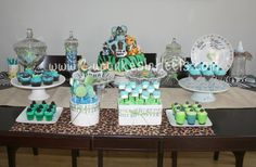 baby shower: jungle theme