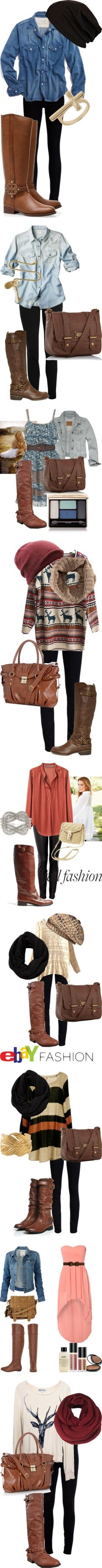 """Riding Boots"" by valentinelove17 on Polyvore I want all of this"