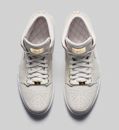 "Sneakermag - The Sneaker Blog: AIR JORDAN 1 PINNACLE ""WHITE"""