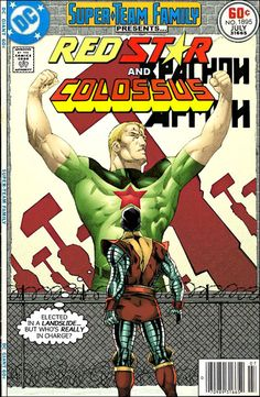 Super-Team Family: The Lost Issues!: Red Star and Colossus