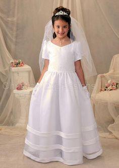 First Communion Dresses.