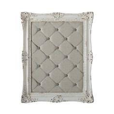 Nástenka in resina e lino bianco 56 x 70 cm ROMANCE prezzo 74,99€