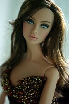Gorgeous doll - I love her hair and makeup