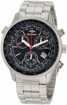 Rotary Men's AGB90045/C/04 Aquaspeed Sports Chronograph Bracelet Swiss-Made Watch Rotary. Save 64 Off!. $221.47. Water-resistant to 330 feet (100 M). Slide rule; Swiss made. Quartz movement. Case diameter: 43 mm. Chronograph