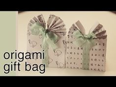Also you may like these origami bunny rabbit envelopes too! If you enjoyed my tutorial, please take a moment to leave a comment, thumbs up . Origami Gift Bag, Origami Hand, Cute Origami, Origami And Quilling, Origami Folding, Useful Origami, Origami Box, Origami Instructions, Origami Tutorial