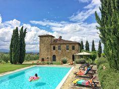 Villa in bucine: Pool, AC, Maid