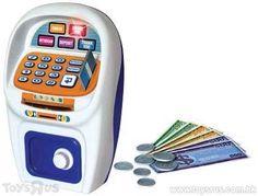 Just Like Home ATM Saving Bank Toy R, Savings Bank, Landline Phone, Chefs, Safe Room