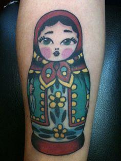 * Russian Matryoshka Doll Tattoo *