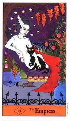 Halloween Tarot - The Empress