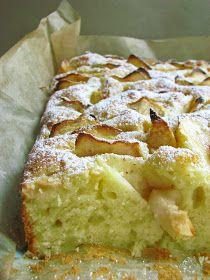 zufikowo: Puszyste ciasto z jabłkami