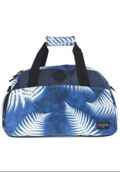 Rip curl blue fern leaves bag