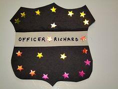 Community Helpers Police Offer Badge