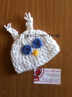 Crochet Owl Hat for a Baby - The Supermums Craft Fair