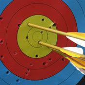 Archery in Birmingham - This stag do, stag weekend and stag party activity makes up part of a great multi activity in Birmingham! For more information on this package visit http://www.stagweekends.co.uk/ or call 01773 766051.