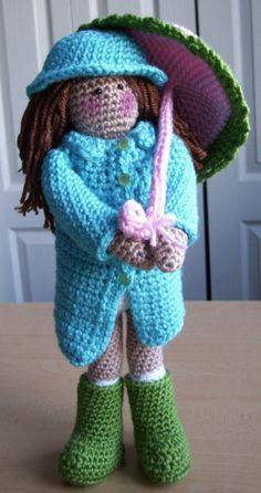Bella Ann... crochet doll PDF pattern by KTBdesigns on Etsy, $6.00