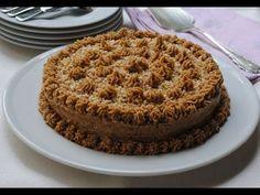Tarta de Galleta con Crema de Moka y Chocolate @envidiacocina 29 - YouTube