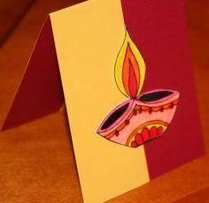 diwali card making 15 Diwali card making ideas Diwali Dhamaka Handmade Diwali Greeting Cards, Homemade Greeting Cards, Diy Diwali Cards, Homemade Cards, Diwali For Kids, Diwali Craft, Diwali Diya, Diwali Cards Designs, Diwali Card Making