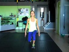 5 Minute Lean Legs Circuit Workout. Free Online Fitness Video