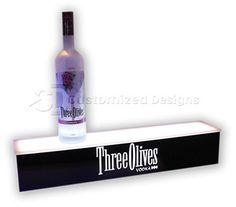 Three Olives Vodka Bottle Glorifier
