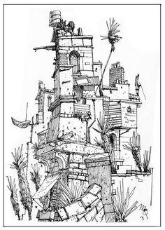 Sketchbook: Tower 2.
