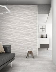 Laccio est une nouvelle collection de carreaux de céramique en relief, conçue pour Peronda Group par le studio de design Dsignio