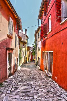 Rovinj/Rovigno - Coastal Town - Croatia - Travel Europe - HDR – Instant Download - 300dpi - 3648 x 5472 pix by BeeJayPhoto on Etsy