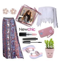 """""""Love NewChic"""" by pixidreams ❤ liked on Polyvore featuring New Look and MAC Cosmetics"""