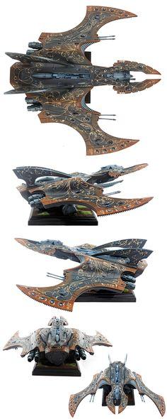 40k - Eldar Vampire Raider