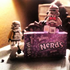 Sugar High...   #Stormtroopers #candy #nerds #Wonka #Lego     (original photo by JLusk)